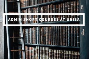 admin short courses at unisa